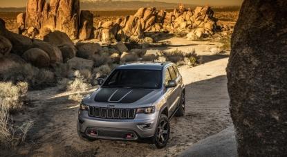 Новый Grand Cherokee Trailhawk. Станьте первым владельцем легендарной машины!
