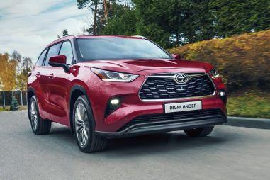 В России начались продажи новой Toyota Highlander
