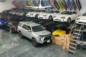 У наркоторговца из США обнаружена шикарная коллекция японских спорткаров (фото)
