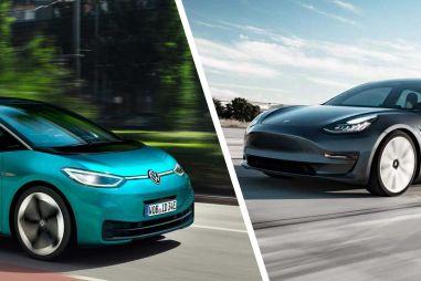 Volkswagen к 2023 году хочет обойти Теслу по выпуску электромобилей и их софту
