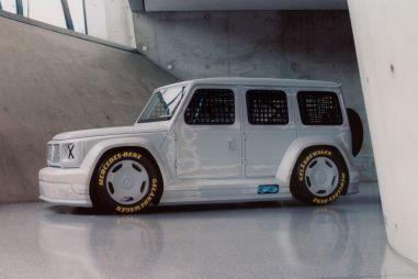 Mercedes-Benz показал странный Гелендваген для кольцевых гонок