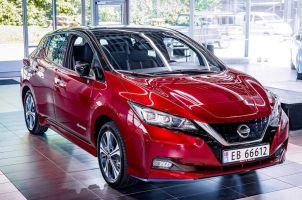 Nissan отпраздновал сборку полумиллионного Leaf