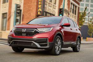 Стали известны цены на обновленную Honda CR-V