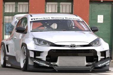 Японские тюнеры превратили Toyota GR Yaris в грозного раллийного монстра