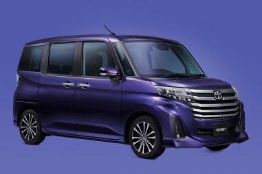 Близнецы Toyota Roomy и Daihatsu Thor обновились и получили улучшенную безопасность