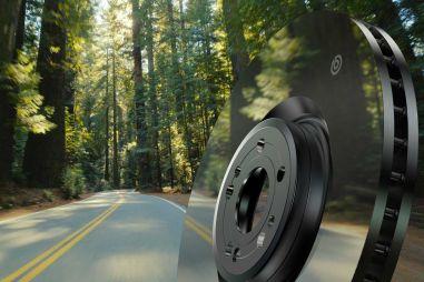Brembo представила тормозные диски с зеркальным покрытием