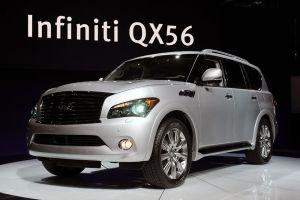 Infiniti отзывает в России внедорожники QX56, заставшие доллар по 30