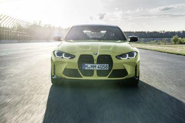 Новые BMW M3 и M4 получили полный привод и огромные «ноздри»