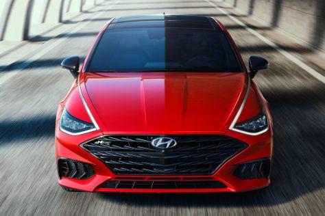 Дебютировал «горячий» седан Hyundai Sonata N-Line