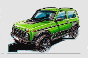 Немецкая фирма соберет 50 глубоко доработанных Lada 4x4