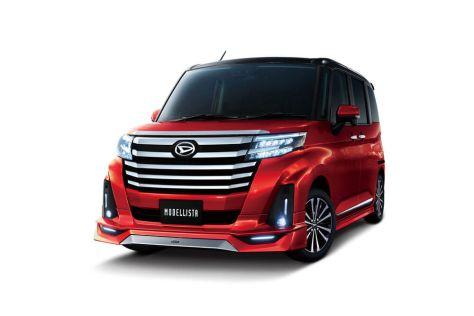 Два Daihatsu получили новые стайлинг-пакеты от Modellista