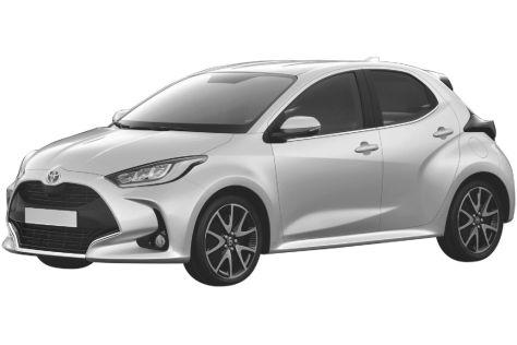 Новое поколение Toyota Yaris запатентовали в России