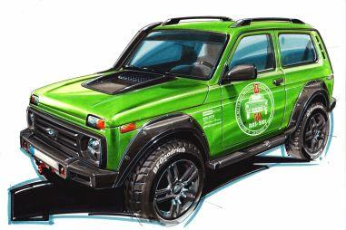 Комментарий к проекту Lada 4x4 50th Anniversary Limited Edition