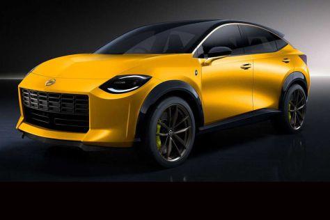 Nissan обсуждает спортивный кроссовер с внешностью купе Proto Z