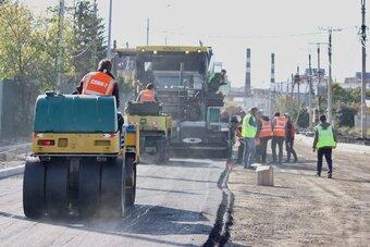 Работы на ней и на прилегающей улице Красноказачьей завершат в октябре.