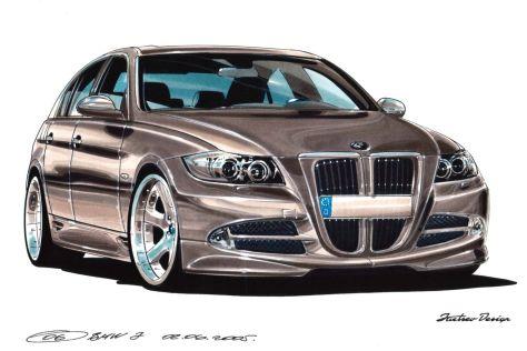 Дизайнер вазовской «десятки» обвинил BMW в плагиате