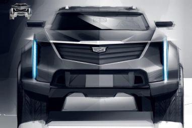 Cadillac показал рисунок своего будущего электрического внедорожника