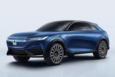 Honda показала прототип электрического купе-кроссовера