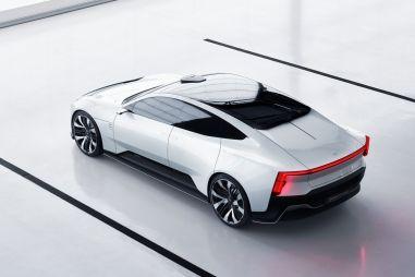 «Дочка» Volvo выпустит электрический седан Precept