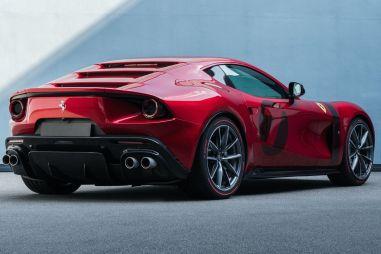 Ferrari построила уникальное купе в стиле гоночных моделей 60-х