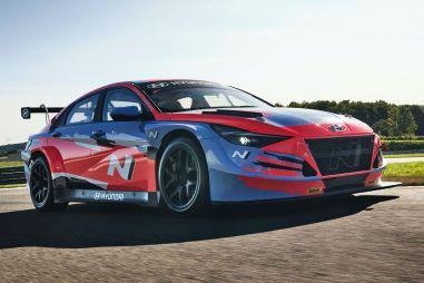 Hyundai представила гоночную версию Elantra N TCR
