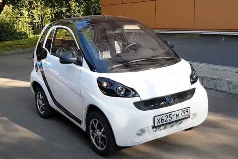 В Адыгее разработали и собрали электромобиль (ВИДЕО)