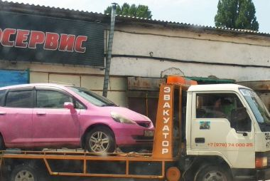 Байкал, Крым, Эльбрус — лето 2020 на розовой Хонде