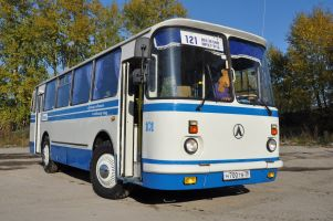 Автобус ЛАЗ-695. Подарок отцу
