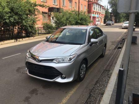 Toyota Corolla Axio 2015 - отзыв владельца