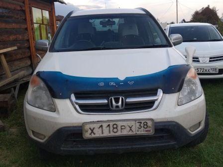 Honda CR-V 2002 - отзыв владельца