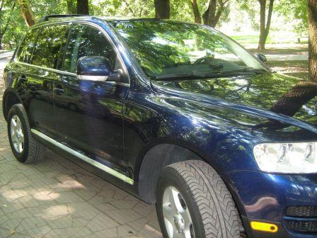 Volkswagen Touareg 2003 - отзыв владельца