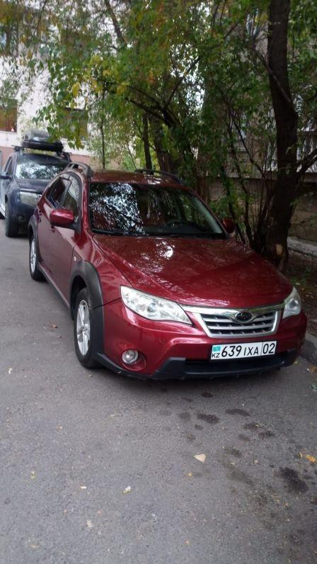 Subaru Impreza XV 2011 - отзыв владельца