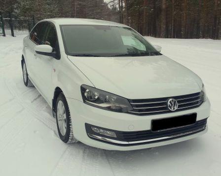 Volkswagen Polo 2016 - отзыв владельца