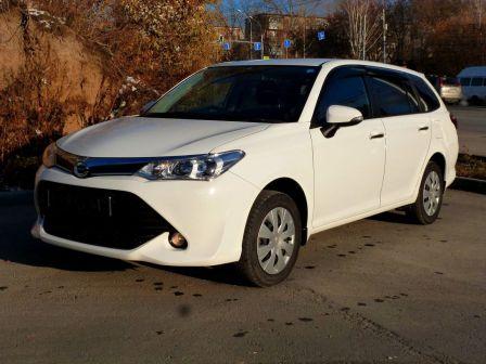 Toyota Corolla Fielder 2016 - отзыв владельца
