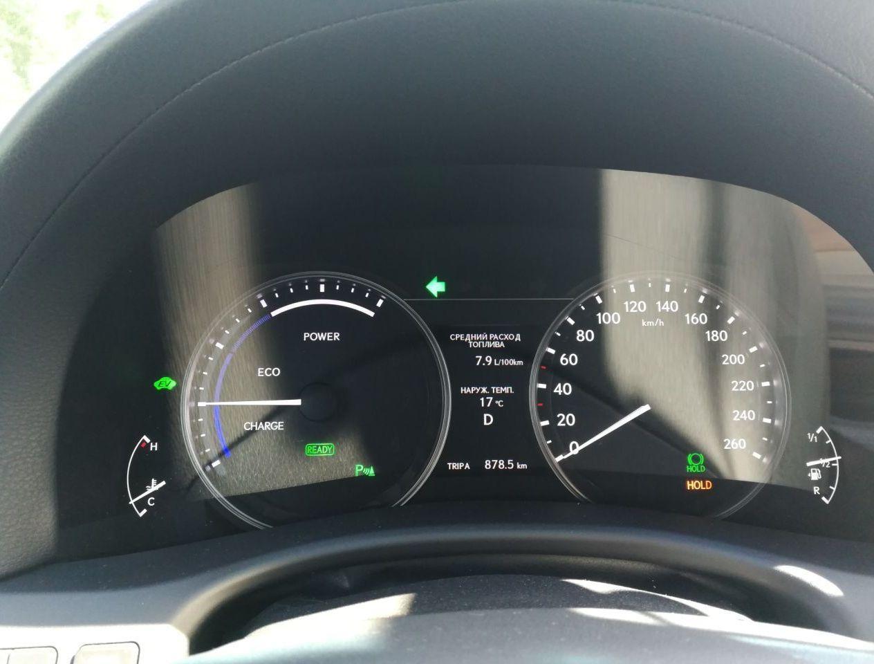показатели расхода по городу (лето, в пробках особо стараюсь не толкаться, стиль вождения спокойный)