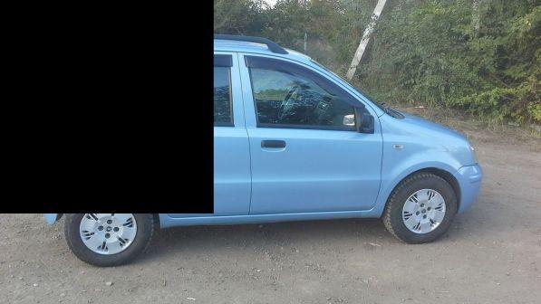 Fiat Panda 2007 - отзыв владельца
