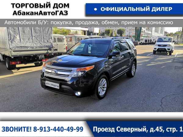 Ford Explorer, 2013 год, 999 000 руб.