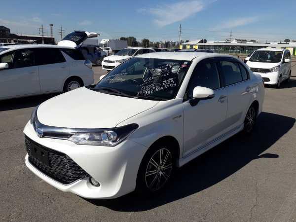 Toyota Corolla Axio, 2016 год, 919 000 руб.