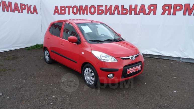 Hyundai i10, 2008 год, 270 000 руб.