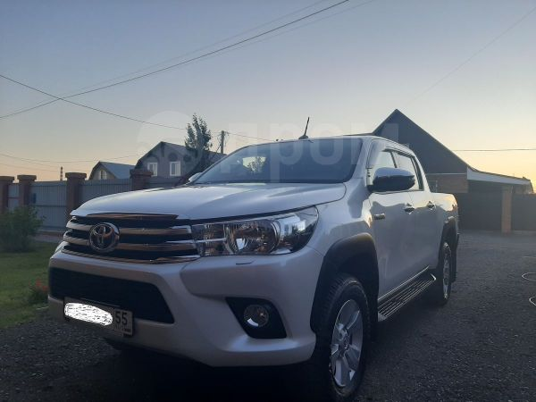 Toyota Hilux Pick Up, 2018 год, 2 446 000 руб.