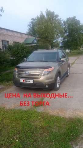 Владивосток Ford Explorer 2013