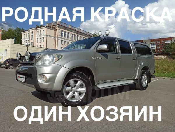 Toyota Hilux Pick Up, 2010 год, 1 150 000 руб.