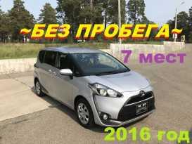 Чита Toyota Sienta 2016
