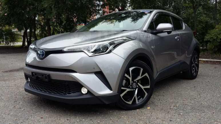 Toyota C-HR, 2017 год, 1 597 000 руб.