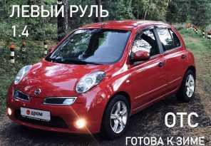 Иркутск Nissan Micra 2010