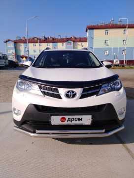 Тазовский Toyota RAV4 2014