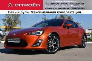 Иркутск Toyota GT 86 2012