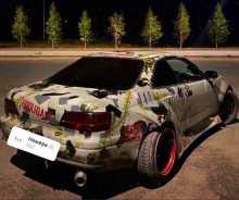 Омск Corolla Levin 1996