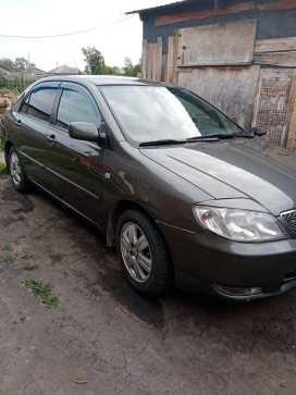 Половинное Corolla 2002