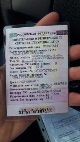 Гусь-Хрустальный Niva 2018